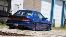 92-01 Subaru Impreza/WRX Air Lift Kit with Manual Air Management- Back/Side View