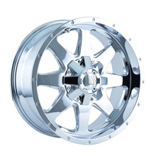 Mayhem Tank 8040 Chrome 20x9 8-165.1/8-170 -12mm 130.8mm