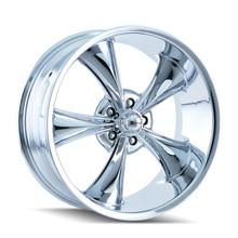 Ridler 695 Chrome 20x10 5-127 0mm 83.82mm