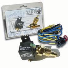 Zirgo Radiator Temp Control Switch w/Harness