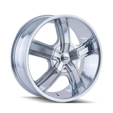 DIP D69 Boost Chrome 20x8.5 5-112/5-120 35mm 72.62mm
