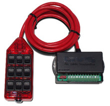 AVS ARC-9 Switch Rocker Series Red w/Lock