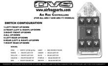 AVS ARC-7 Switch Rocker Series Black