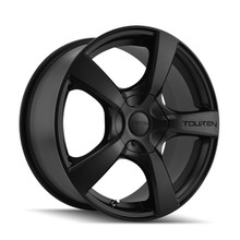 Touren 3190 Matte Black 18X8 5-127 40mm 72.62mm