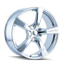 Touren 3190 Chrome 16X7 5-110/5-115 42mm 72.62mm
