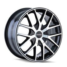 Touren 3260 Black/Machined Face/Ring 16X7 5-110/5-115 42mm 72.62mm