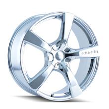 Touren 3190 Chrome 22X9.5 5-114.3/5-130 40mm 72.62mm