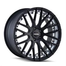 Touren 3230 Matte Black/Machined Undercut 20X8.5 5-114.3 30mm 72.62mm