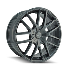 Touren 3260 Gunmetal 17X7.5 4-108/5-108 42mm 72.62mm