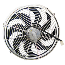 "Zirgo 14"" 2122CFM Chrome  Radiator Cooling Fan"