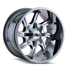 Cali Off-Road Twisted PVD2 Chrome 20X9 5-139.7/5-150 18mm 110mm