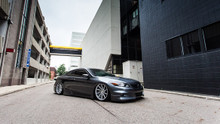 08-12 Honda Accord Air Lift Kit with Manual Air Management- Side/Tire View