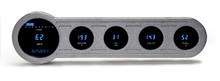 "Universal 5 Gauge (4"" X 14.5"") Universal Side Street Rod Digital Instrument System"