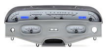 1958 Chevy Impala VHX Instruments silver and blue