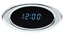 Ion Series Digital Clock Chrome