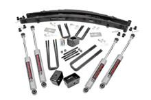 4in Dodge Suspension Lift Kit (Dana 60)(86-89 W100/78-93 W150)