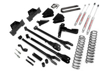 8in Ford 4-Link Suspension Lift Kit (05-07 F-250/F-350 4WD | Diesel)