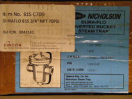 "SPENCE STEAM TRAP 81S, 3/4"" 70PSI"