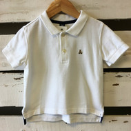 Baby Gap White Polo Shirt