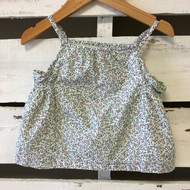 Baby Gap Pink & Green Floral Top