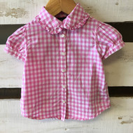 Ralph Lauren Pink & White Gingham Shirt
