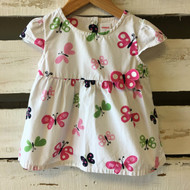 Gymboree White Butterfly Dress