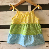 Gymboree Tiered Polka Dot Summer Dress