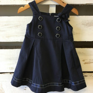 Gymboree Navy Blue Sailor Inspired Dress