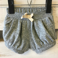 Baby Gap Black & White Fleck Knit Shorts