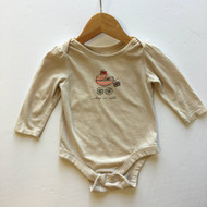 Baby Gap 'Shop n Roll' Tan Bodysuit