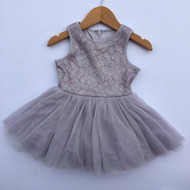 Pippa & Julie Lavender Shimmer & Tulle Dress