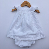 Nordstrom Baby White Eyelet Dress