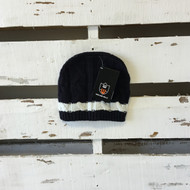 Wes & Willy's Black & White Knit Hat