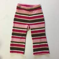 Gymboree Magenta & Brown Stripe Pants