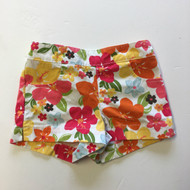 Gymboree Orange Floral Shorts
