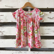 Baby Lulu Floral Cotton T Dress