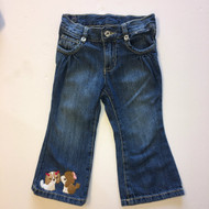 Gymboree Kissing Dog Jeans