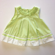 Gymboree Lime Green Ribbon Dress