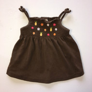 Gymboree Brown Fruit Tank Top