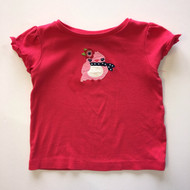 Gymboree Magenta 'Birdie with Scarf' Top