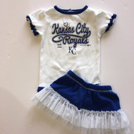 Team Athletics KC Royals Body Suit & Skirt