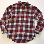 Gap Kids Red, White &  Blue Plaid Shirt