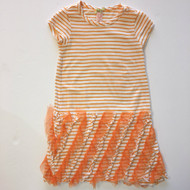 DownEast Girl Orange Stripe Dress