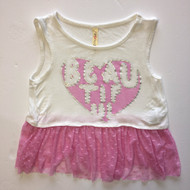 "Runway  Girl""Beautiful"" Tank Top"