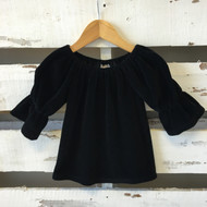 Matilda Jane Black Velvet Top
