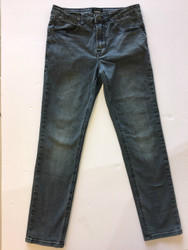 Hudson Black Wash Straight Leg Jeans