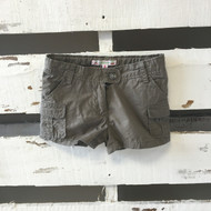 Bonpoint French Designer Boutique Olive Shorts