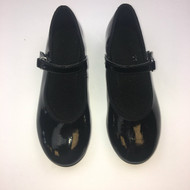 ABT Black Patent Tap Shoes 10.5