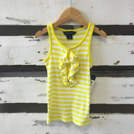 New! Ralph Lauren Ruffle Tank Top