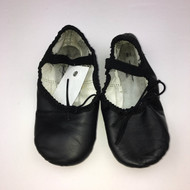 ABT Black Leather Ballet Slippers